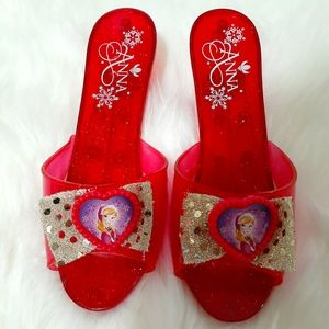 Disney ANNA FROZEN shoes girl's one size